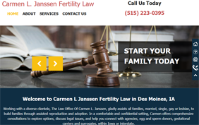 Carmen Janssen Fertility Law